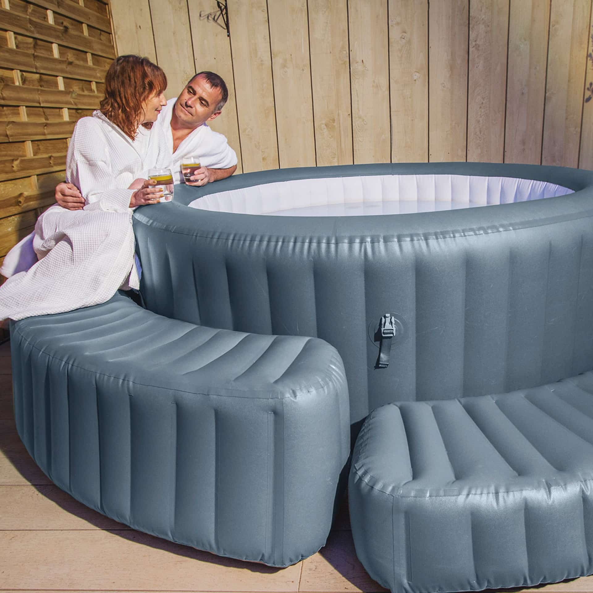 Massasjebad møbel Lay-Z-Spa