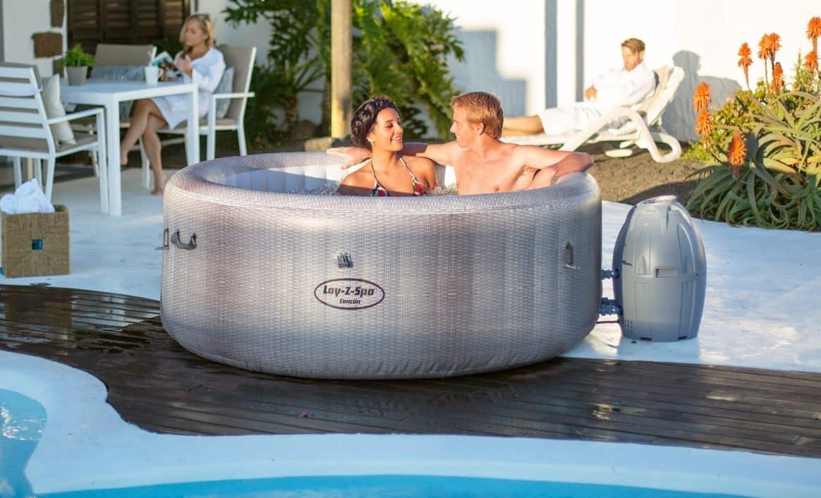 Cancun Lay-Z-Spa boblebad