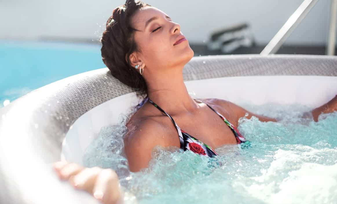 Cancun oppblåsbar spa