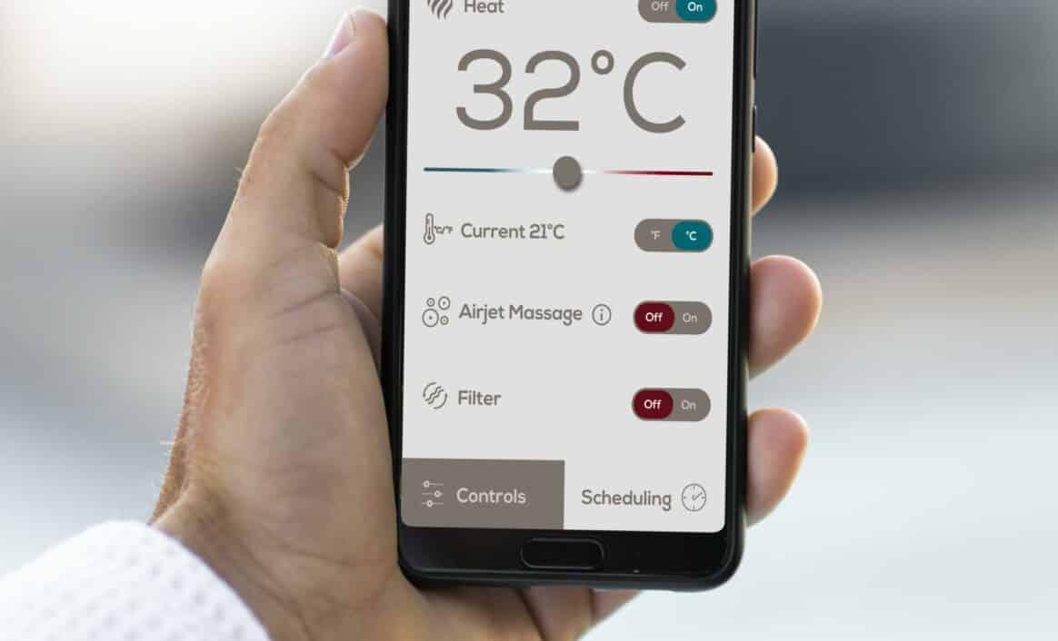 Lay-Z-Spa app for telefon