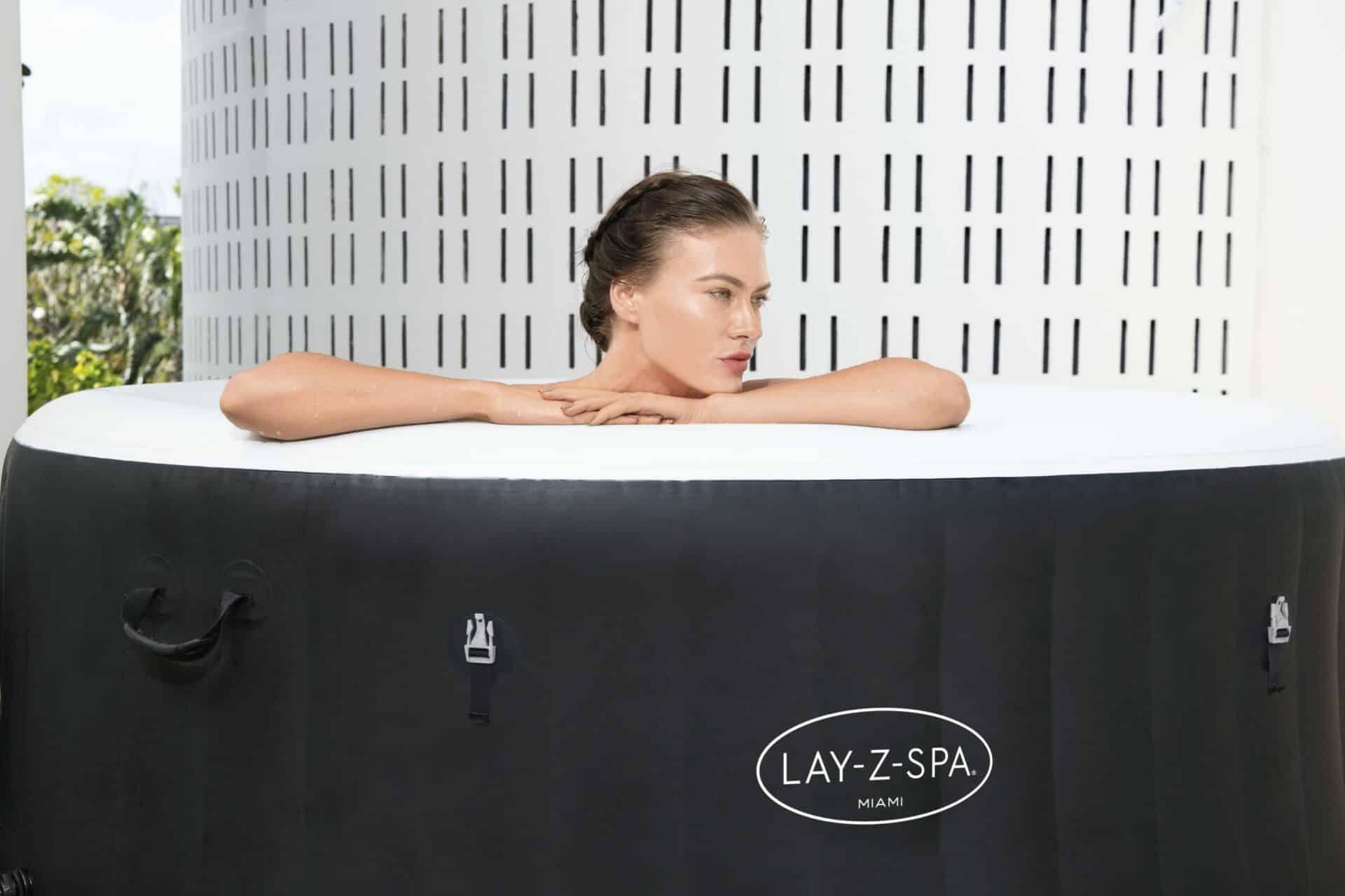 Oppblåsbart Lazy Spa Miami AirJet