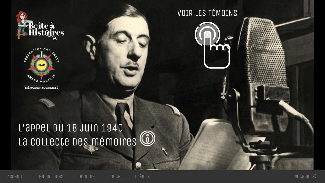 Appel du Général de Gaulles