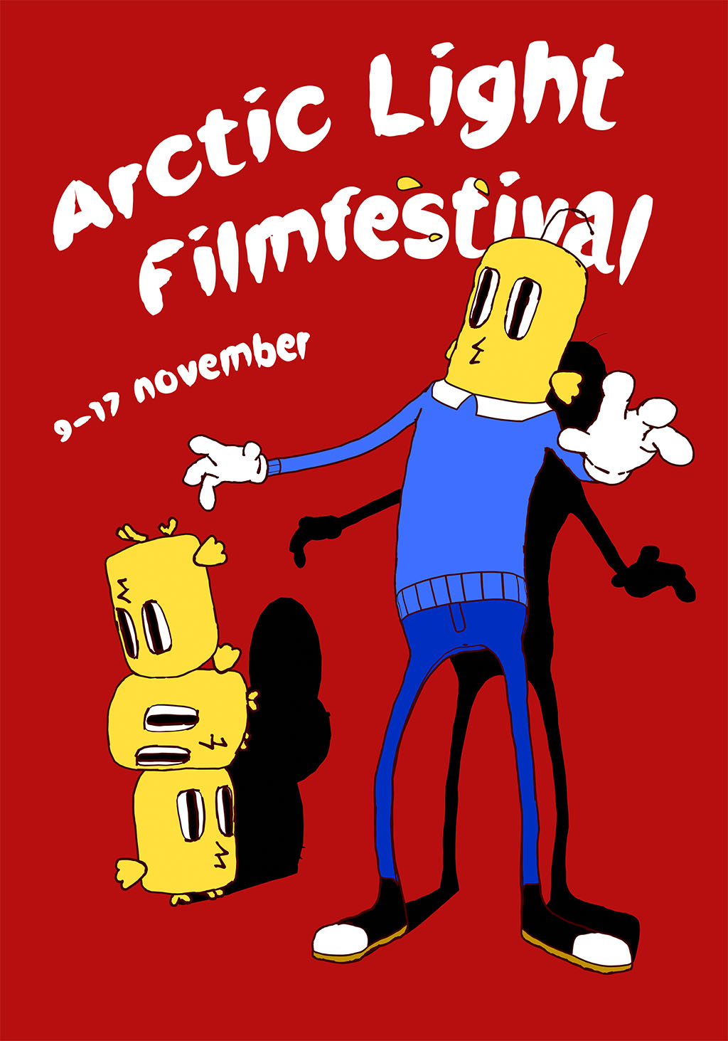 Arctic light film festival 2018 poster