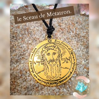 pendentif sceau de l' Archange Métatron, Bijoux, pierre et bien-être