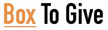 Logo BoxToGive