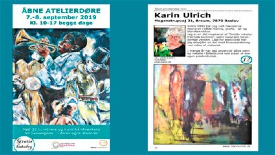 Åbne Atelierdøre – v/Karin Ulrich