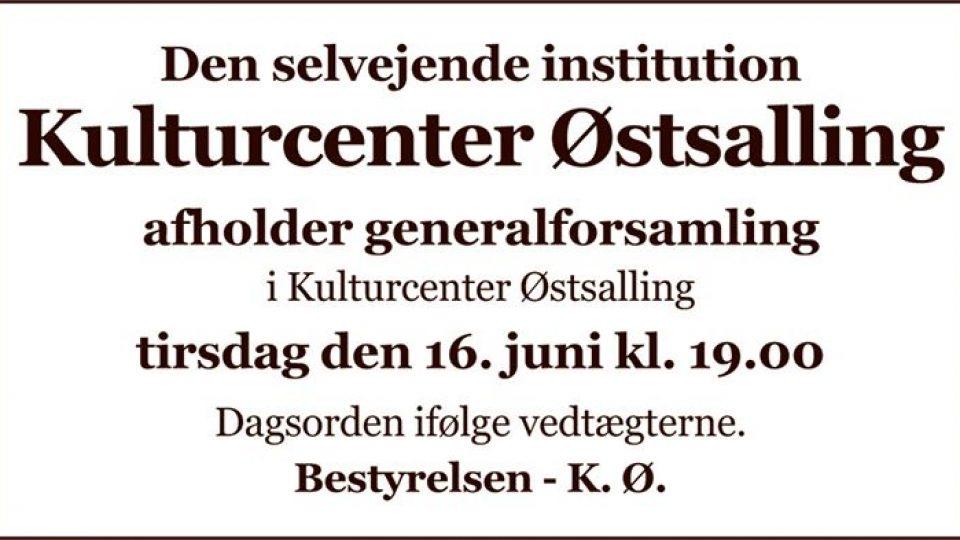 Generalforsamling K.Ø.