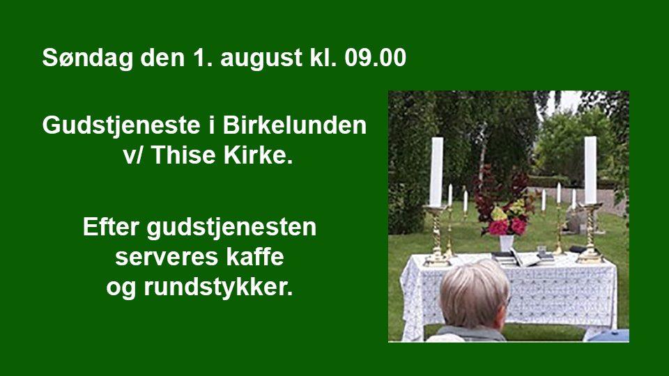 Gudstjeneste – Thise / Lyby Kirke