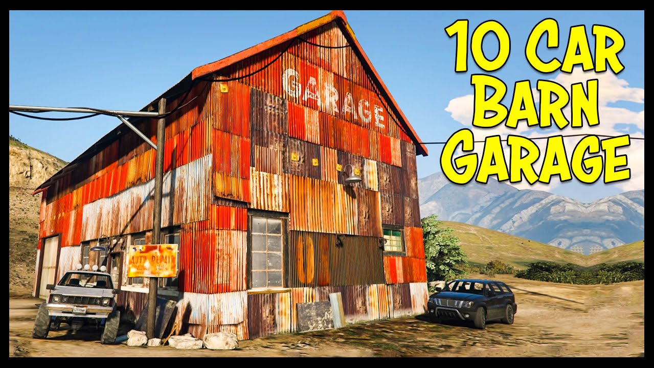 10 car garage