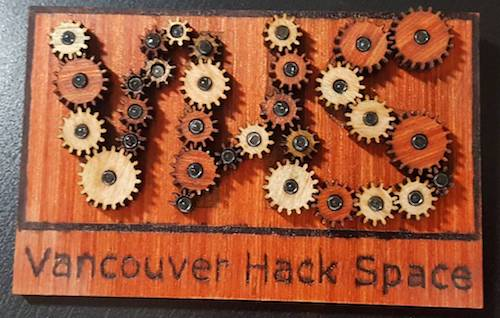 Vancouver Hack Space Gears