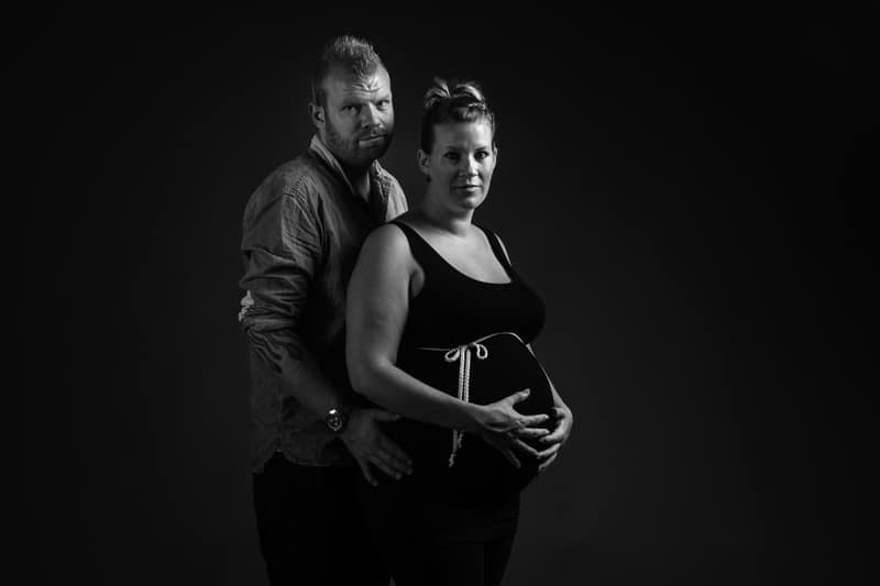 Gravidfotografering hos professionel fotograf