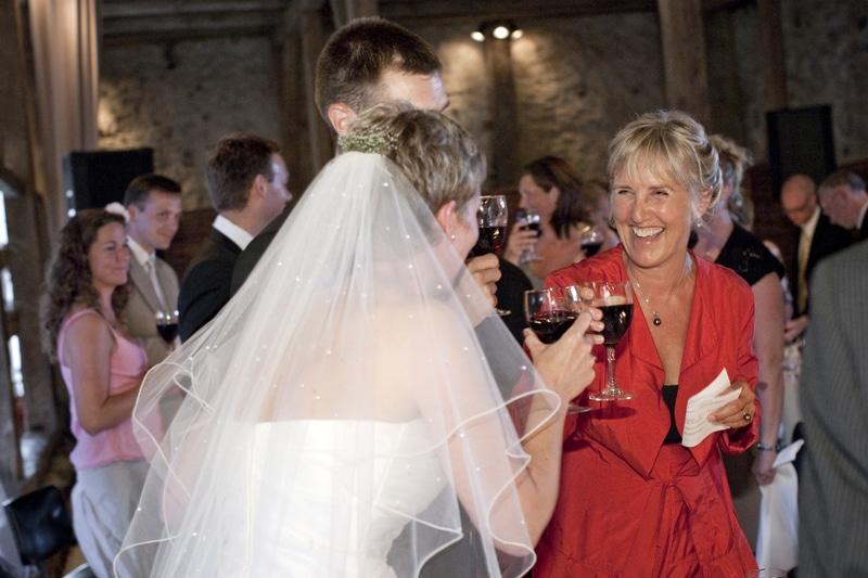 Bryllupsfotografering på Sonnerupgaard Gods.