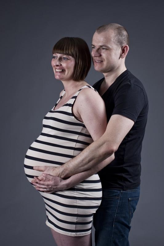 Gravid fotografering hos professionel fotograf
