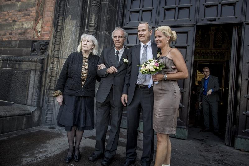 Bryllupsfotografering i København.