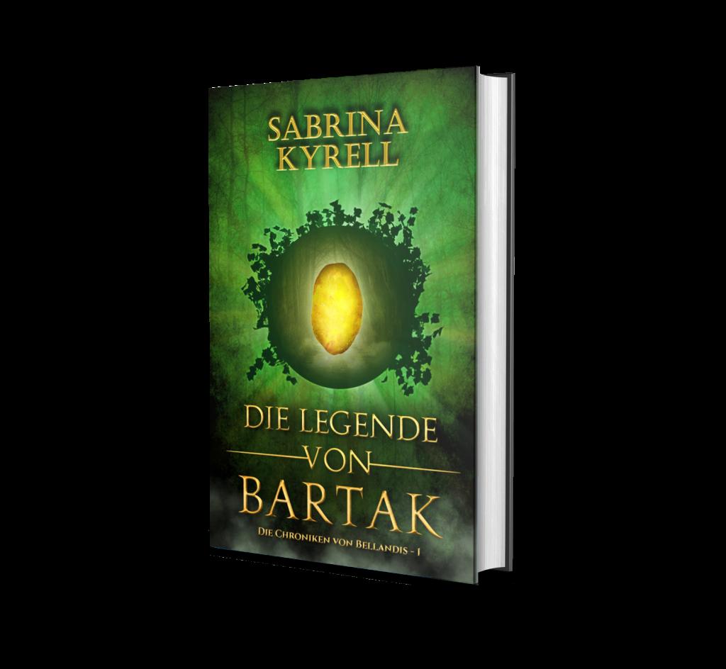 Cover des Fantasyromans Die Legende von Bartak