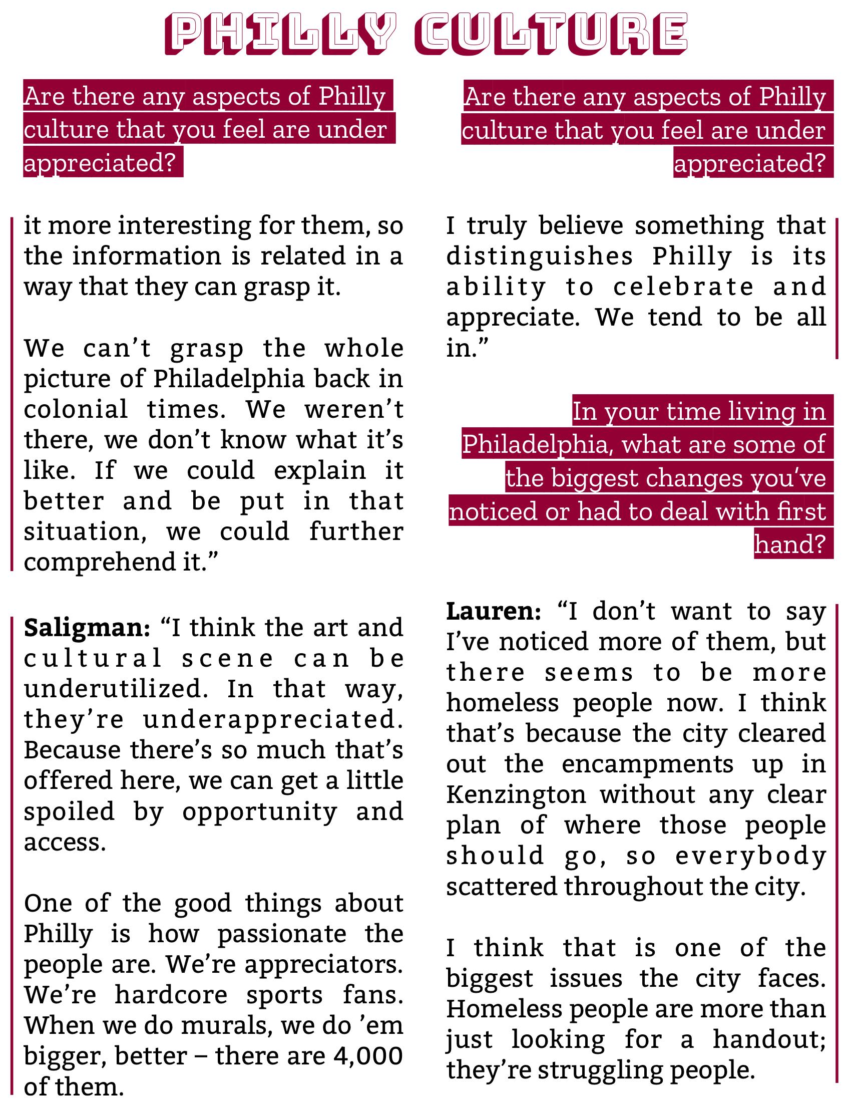 The Burgundy Zine #5: Culture Pg. 12