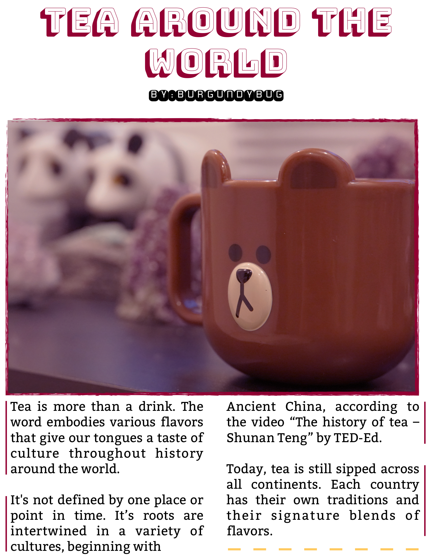 The Burgundy Zine #5: Culture Pg. 45