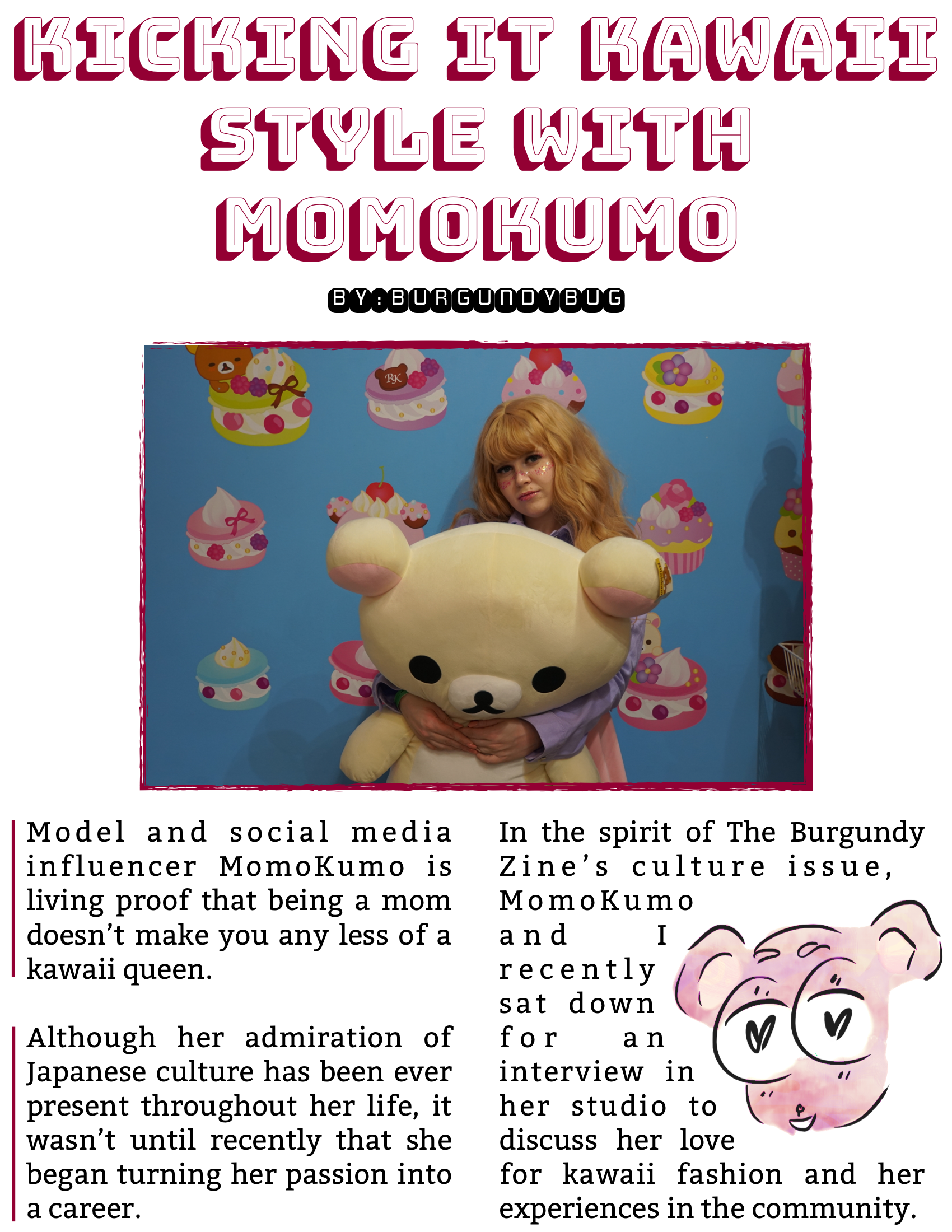 The Burgundy Zine #5: Culture Pg. 68