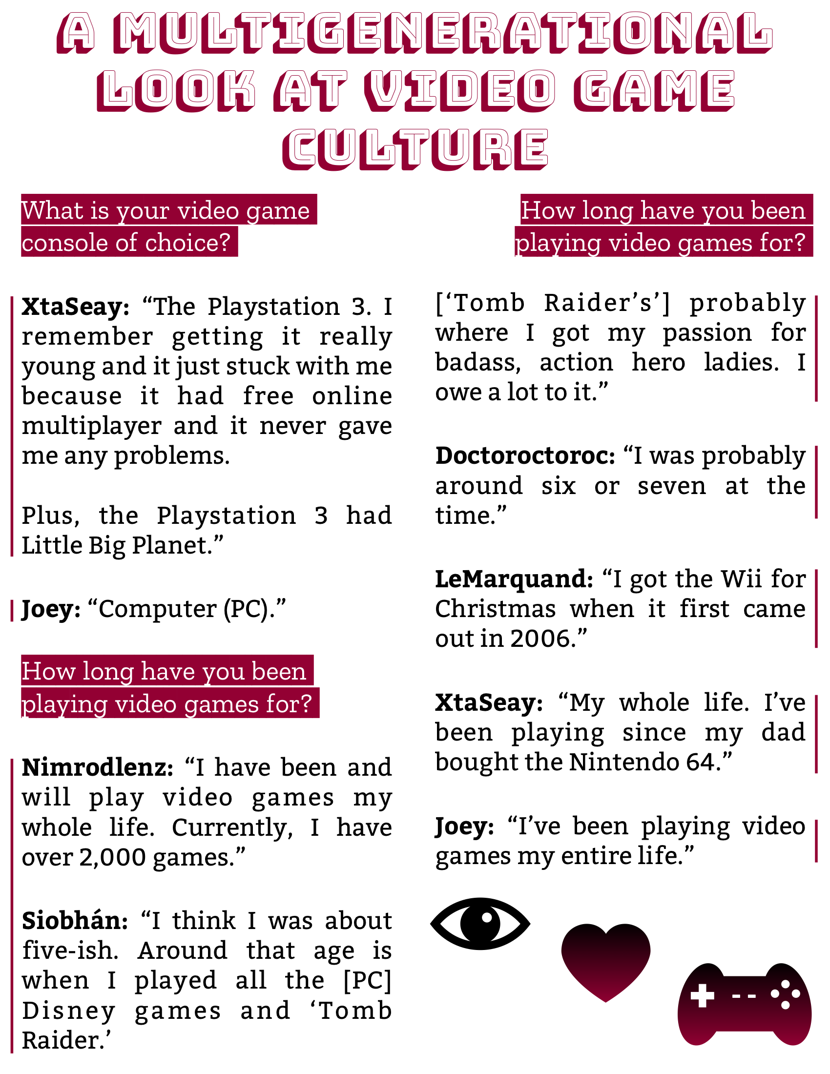 The Burgundy Zine #5: Culture Pg. 87