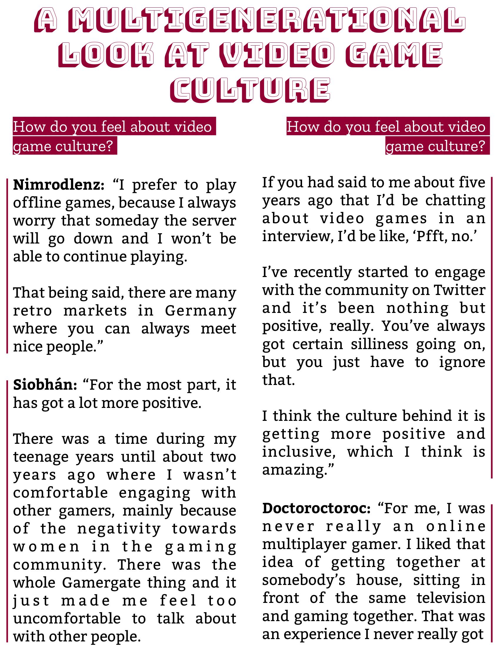 The Burgundy Zine #5: Culture Pg. 92