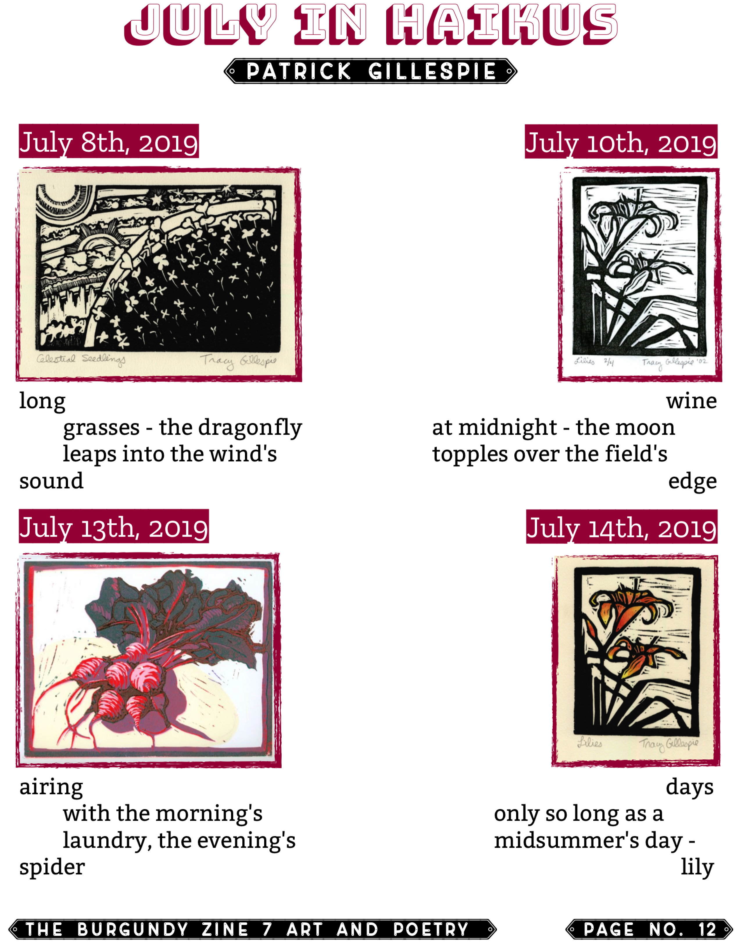 The Burgundy Zine #7 Art and Poetry 012