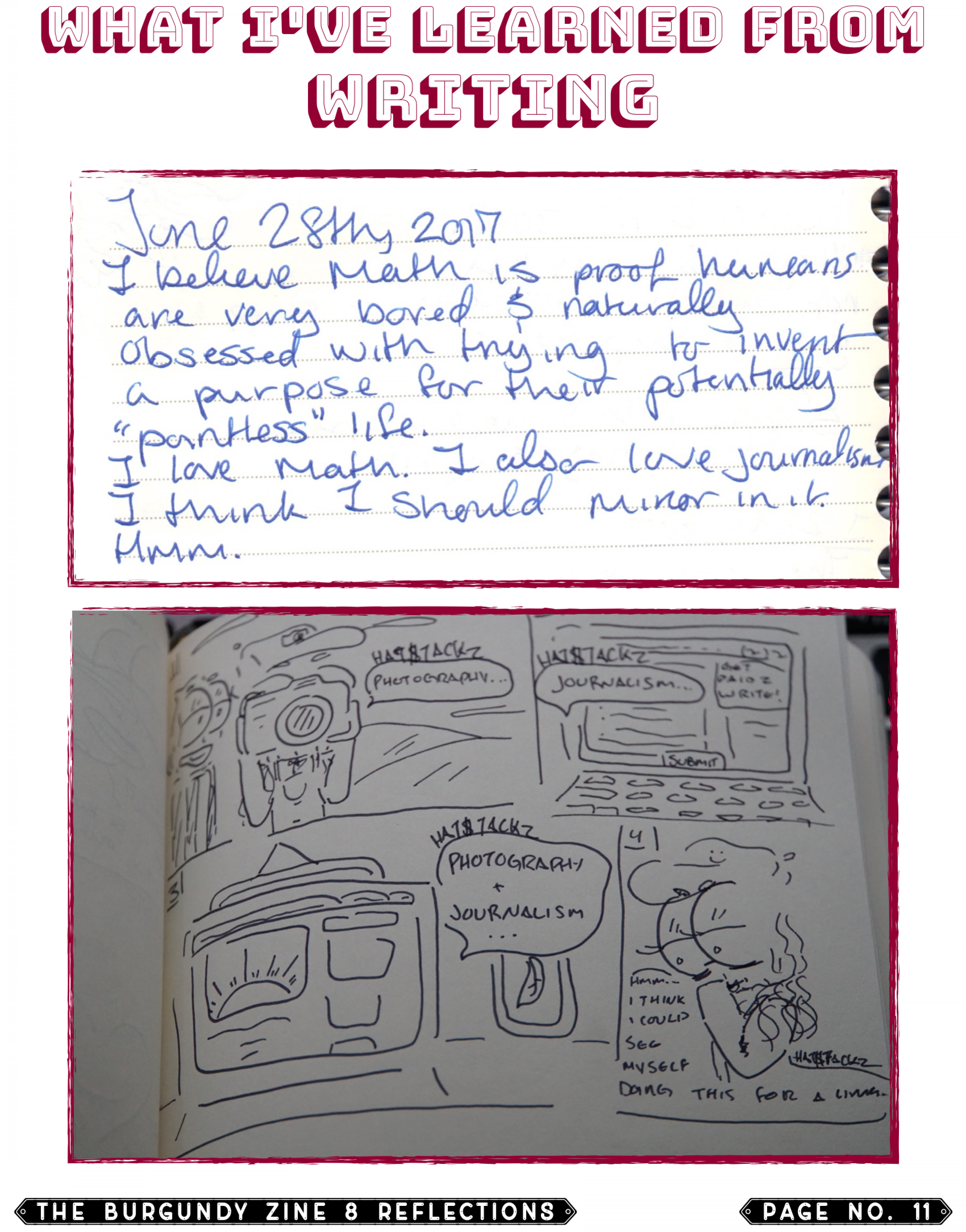 The Burgundy Zine #8 Reflections 011