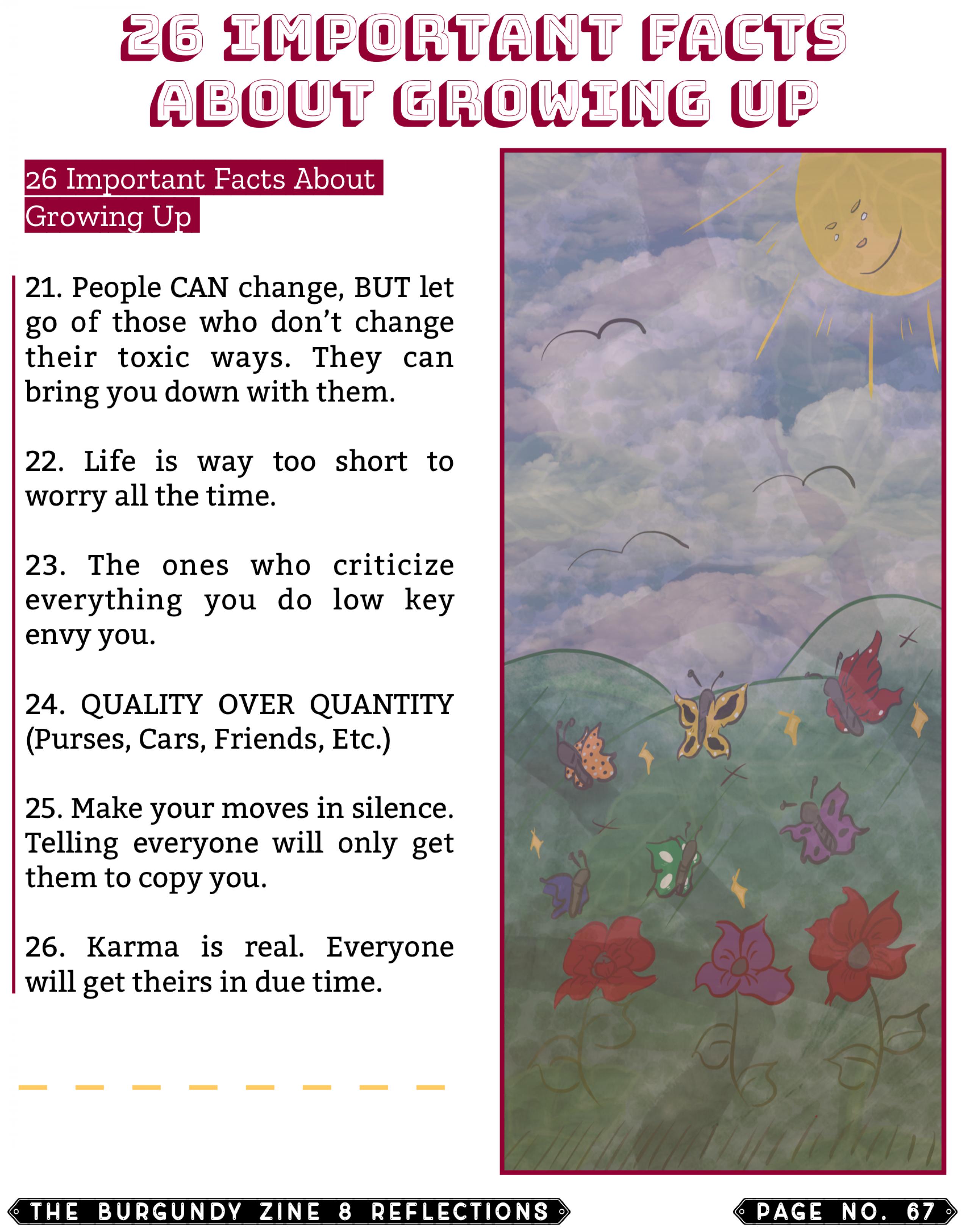 The Burgundy Zine #8 Reflections 067