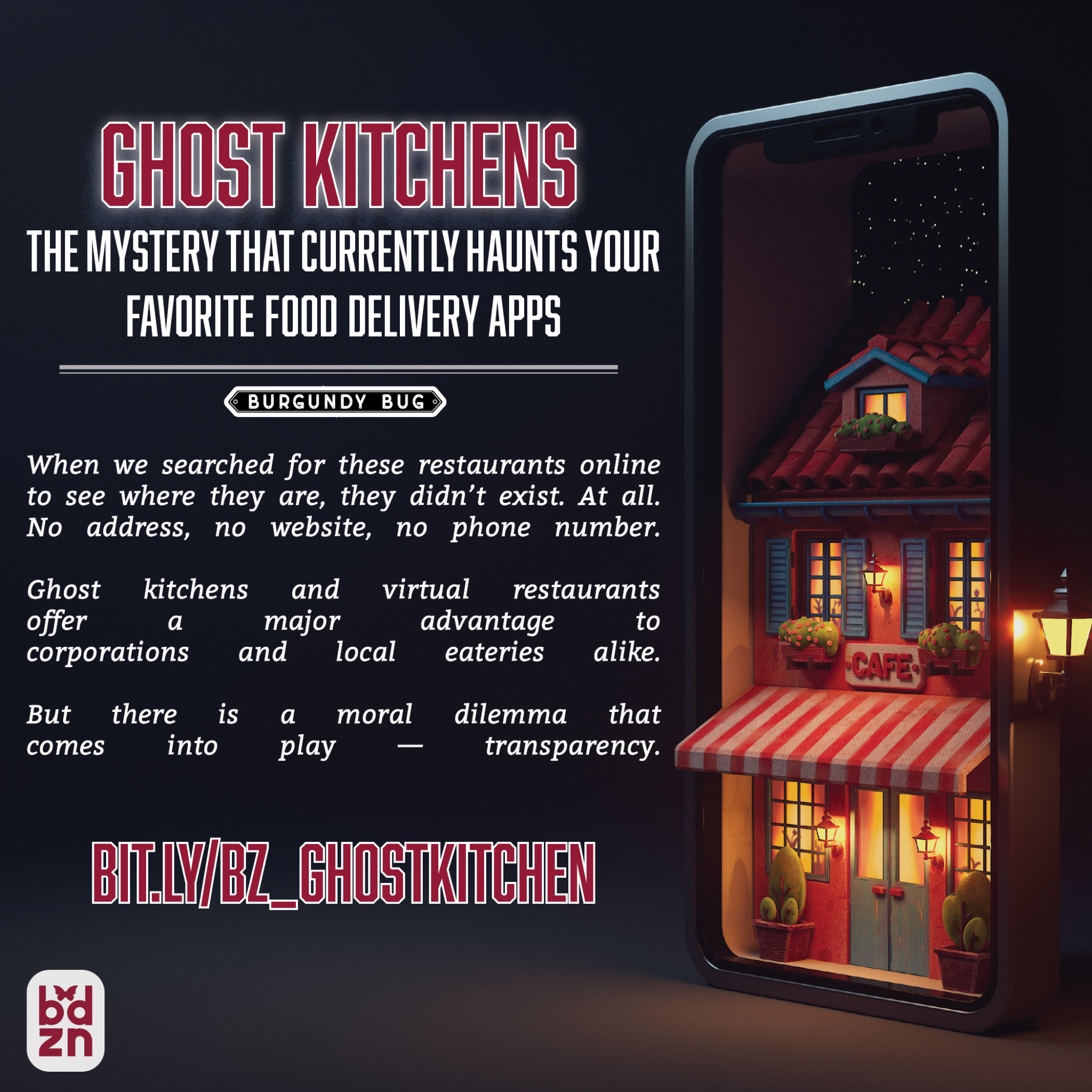 Ghost Kitchens: The Mystery That Currently Haunts Your Favorite Food Delivery Apps