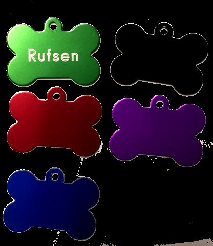 Ben i olika färger