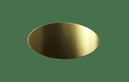 Oval mässing