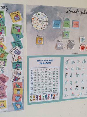 Piktogrammer og læringstavler