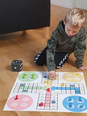 Ludo læringsspil