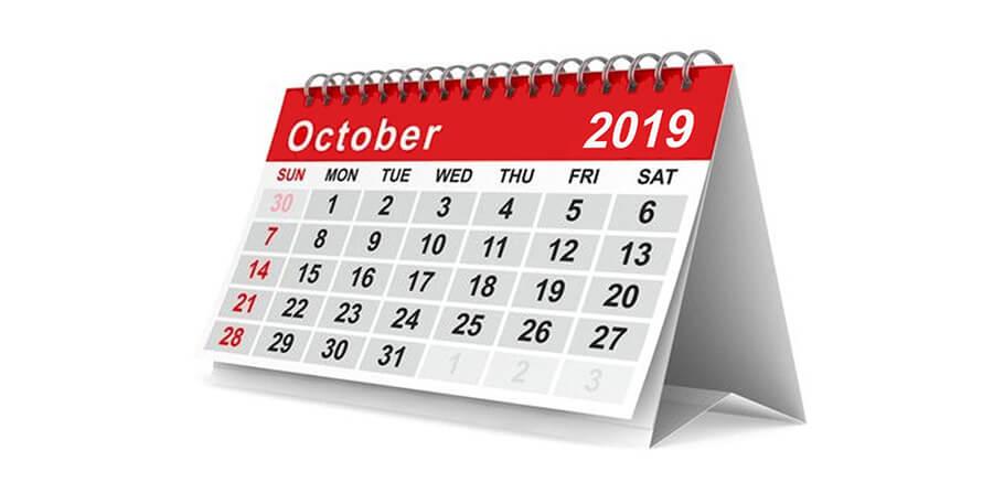 COMPANY NEWS – OCTOBER 2019