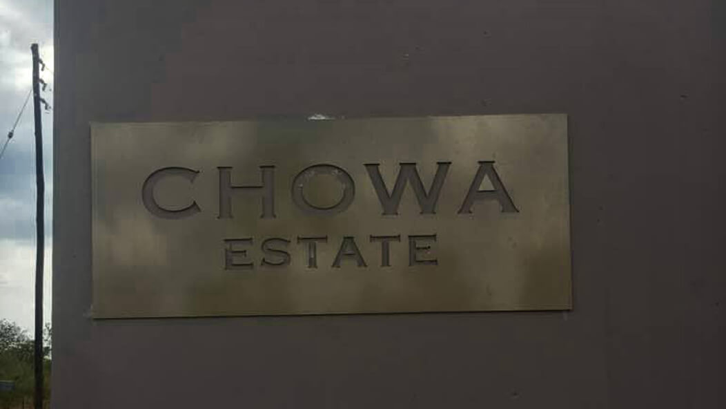CHOWA ESTATE – MAKENI AS YOU HAVEN'T SEEN IT BEFORE!