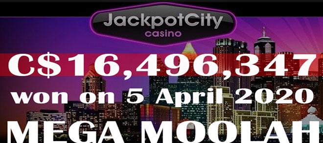 A Canadian Hits the Mega Moolah Slot's Jackpot