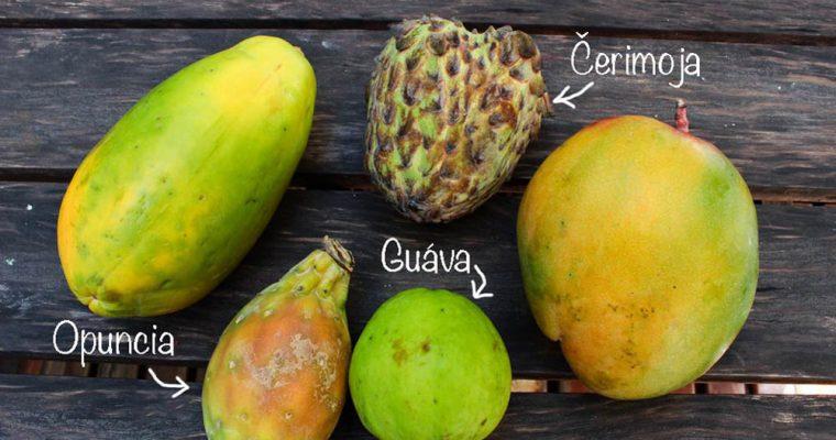 Exotické ovocie – časť 2.