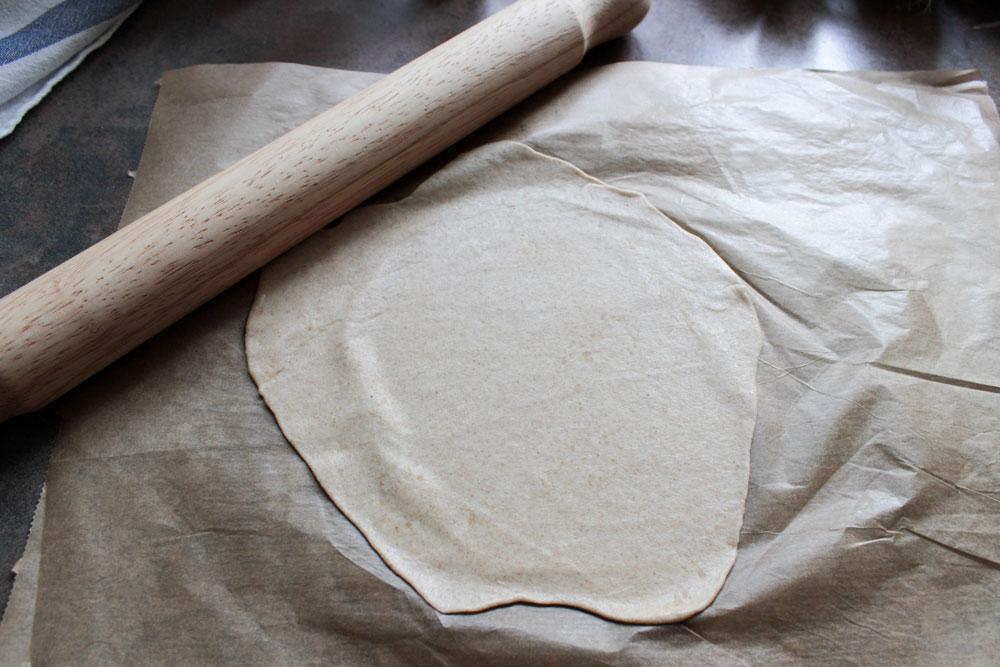 Vaľkanie tortily