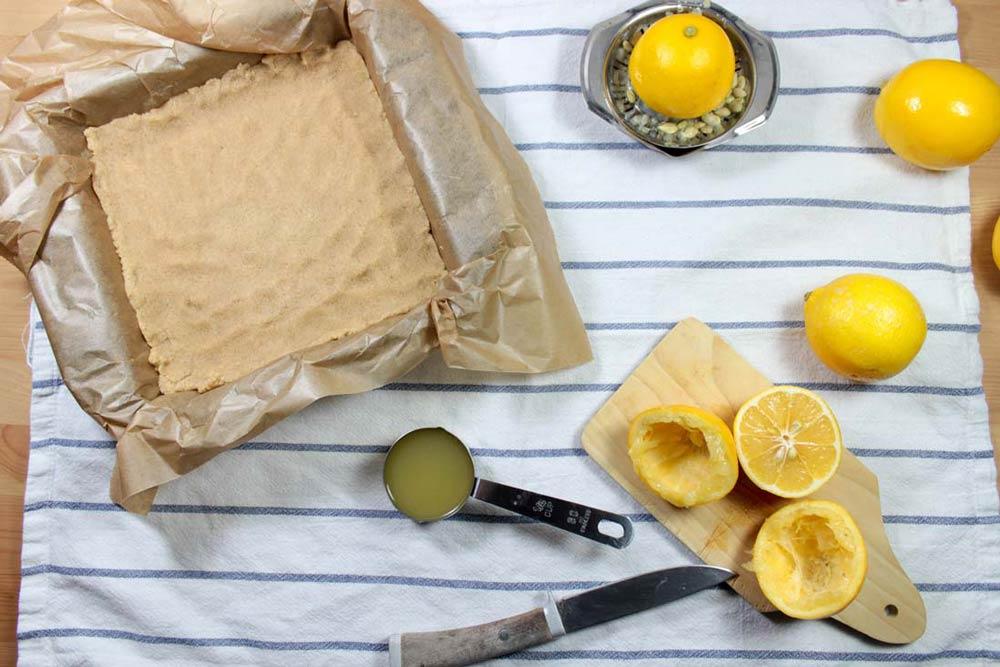 Krehké citrónové rezy