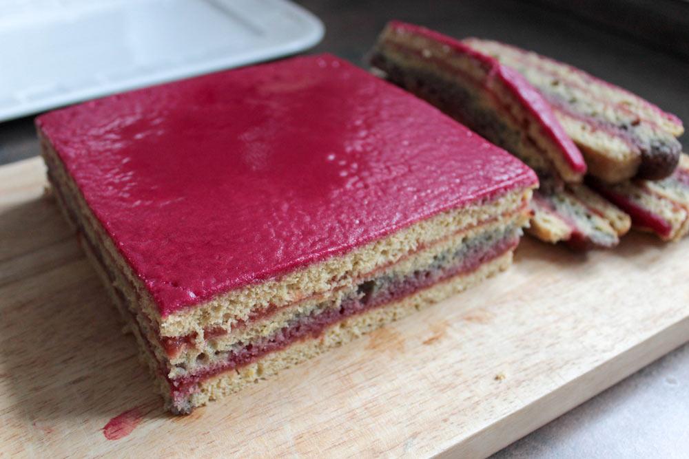 Punčový koláč v kuse