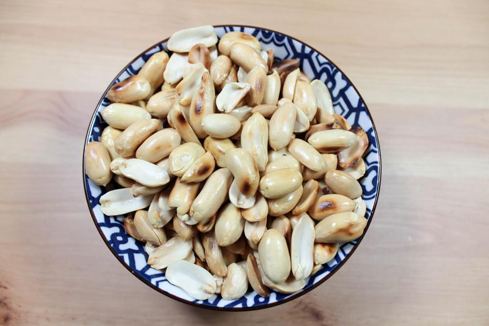 Pražené arašidy