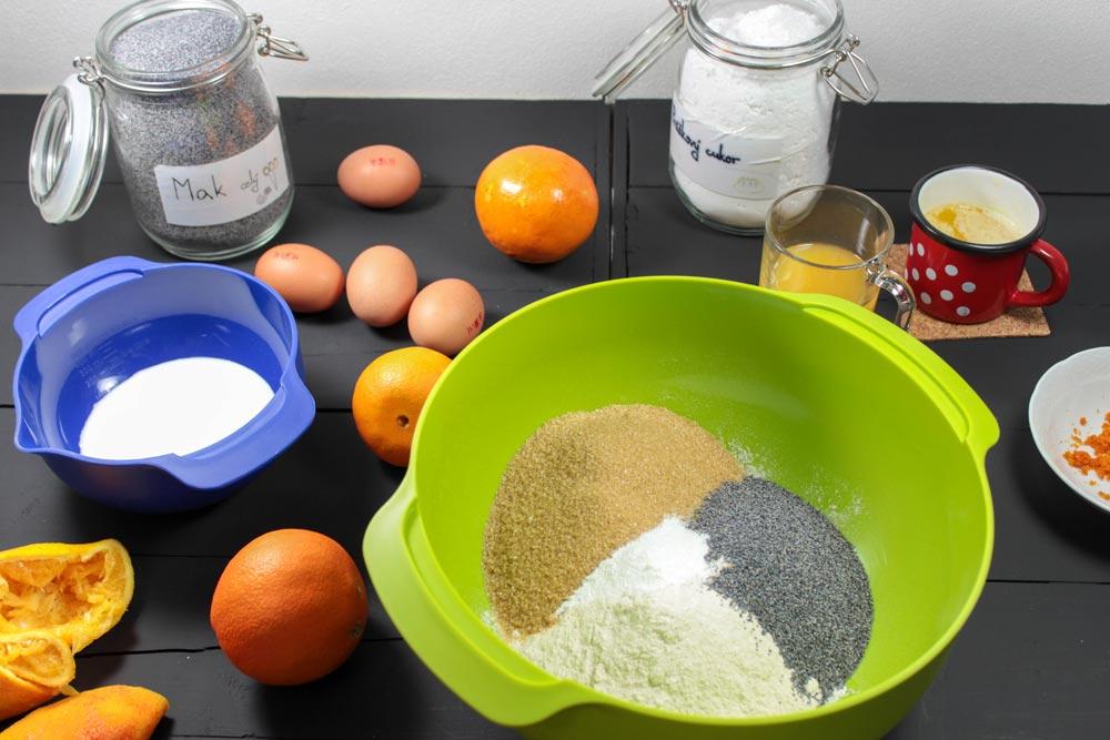 Ingrediencie na suroviny