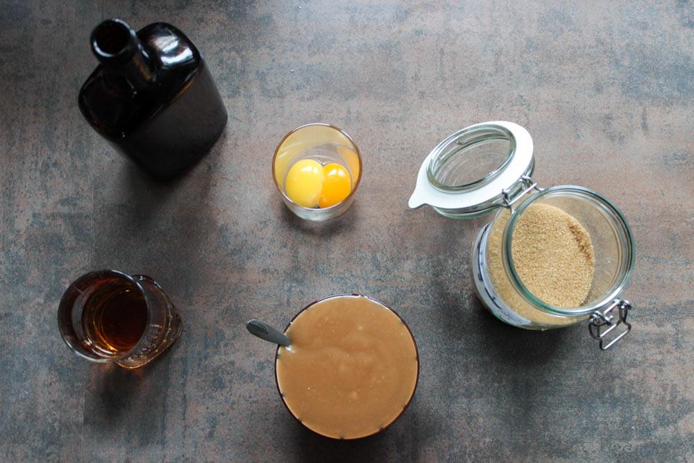 Suroviny vaječný likér