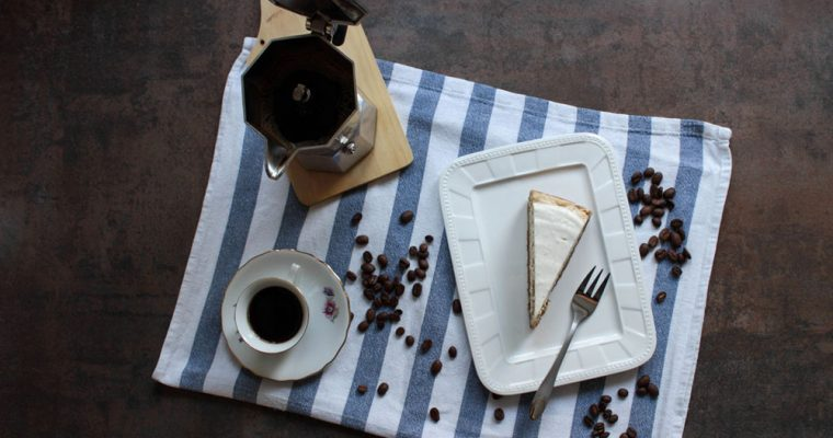 Coffee-quark cake