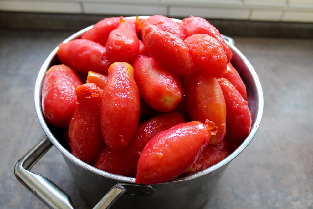 Ošúpané paradajky
