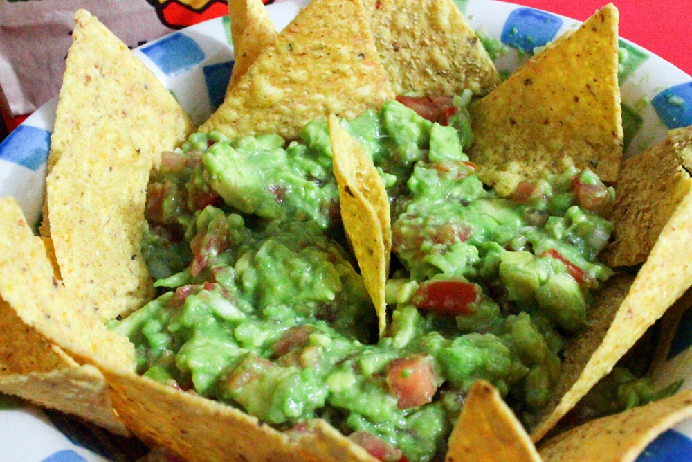 Guacamole s nachos