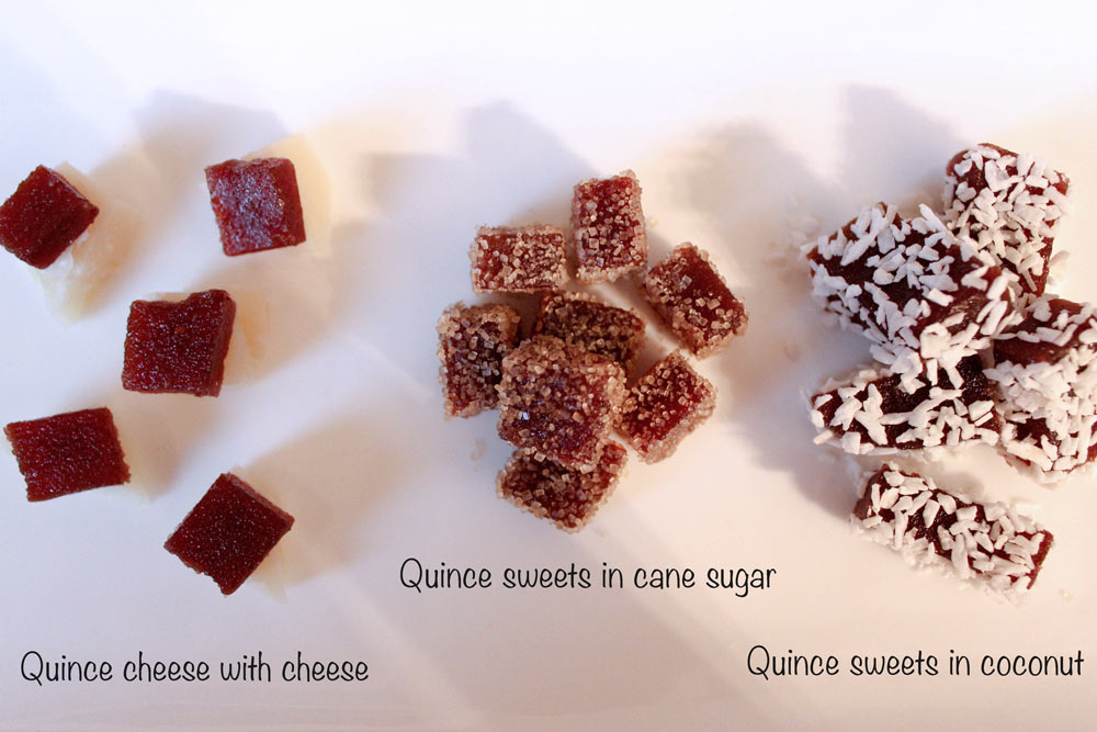 How to serve quince cheese
