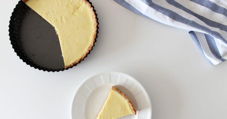 Svieži citrónový koláč s tymiánom