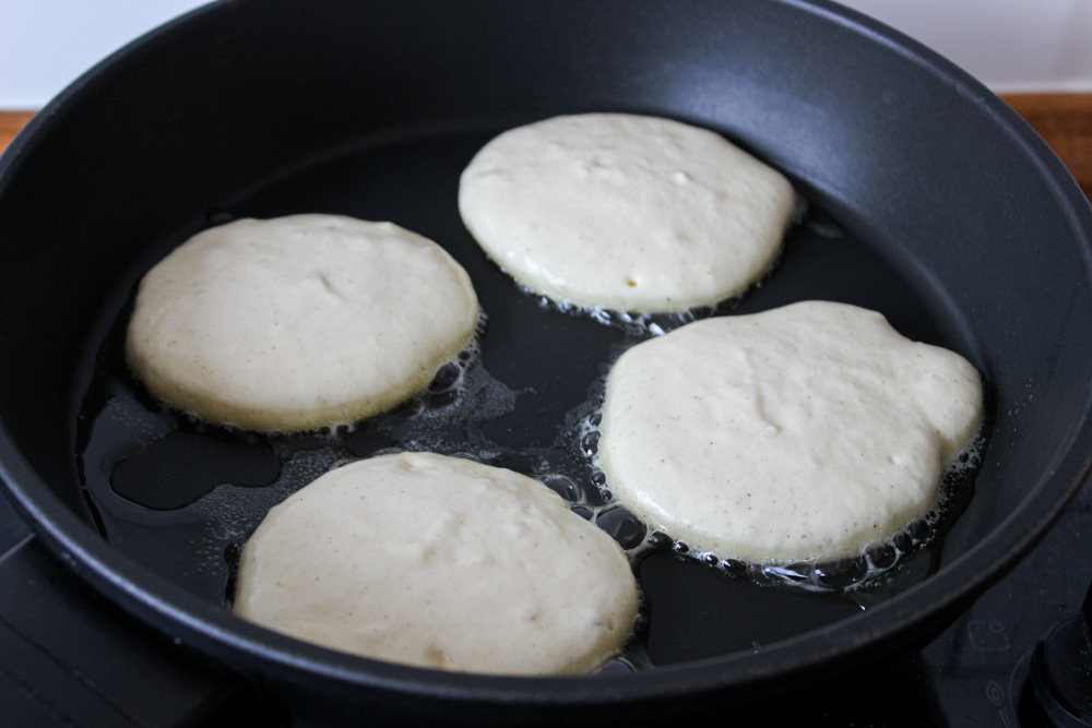 Jogurtové lievance na panvici