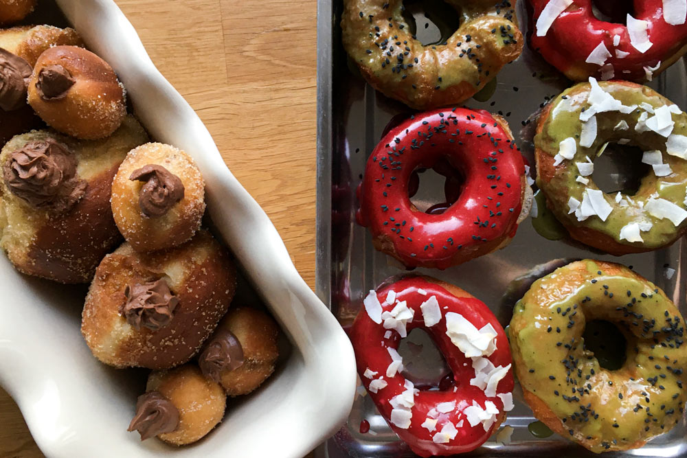 Slávnostné kváskové šišky a donuty