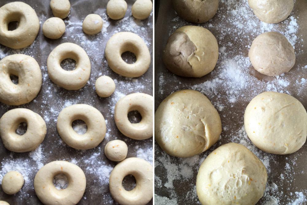 Kváskové šišky a donuty